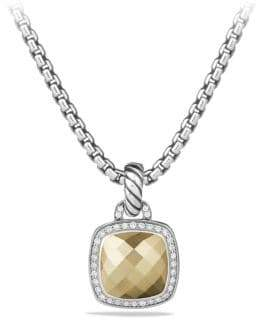 David Yurman Albion Pendant with 18K Gold Dome and Diamonds