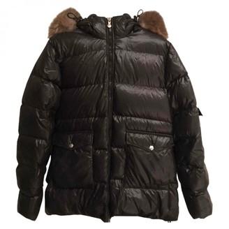 Pyrenex Black Fur Coats