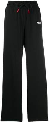 Karl Lagerfeld Paris x Puma wide track pants