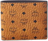 MCM Claus Visetos Canvas Bifold Wallet