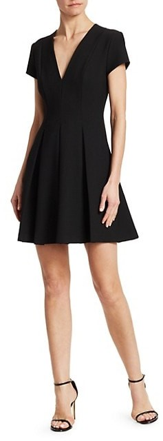 Thumbnail for your product : Emporio Armani Cap Sleeve V-Neck Dress