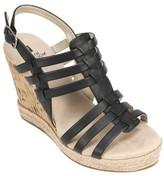 White Mountain Women's Veronique Strappy Wedge Sandal
