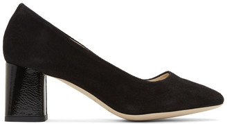 Repetto Black Suede Marlow Heels