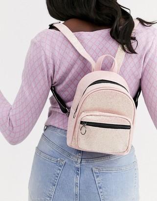 Skinnydip mini sequin backpack