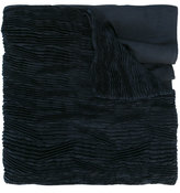 Issey Miyake pleated scarf - women - Polyester - One Size