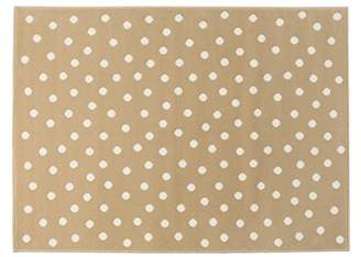 Lorena Canals Dots Acrylic Rug (Linen/Beige, 2X-Large)