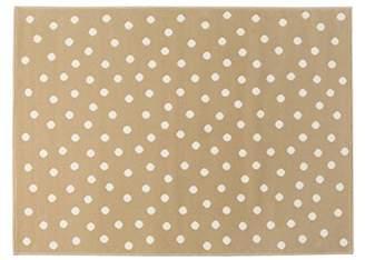 Lorena Canals Dots Acrylic Rug (Linen/Beige)