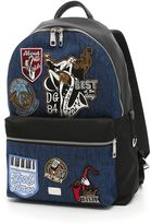 Dolce & Gabbana Ionio Backpack With Patches
