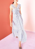 Ulla Johnson Ariane Stripe Maxi Dress Marine