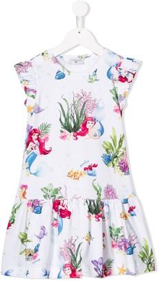 MonnaLisa Disney print sleeveless dress