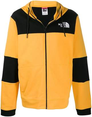 The North Face colour blocked hoodie