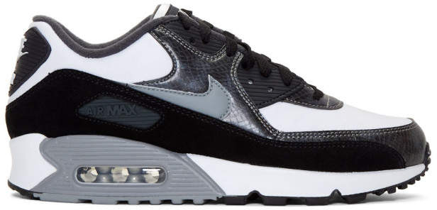 Air Max 90 QS snake effect leather and suede sneakers