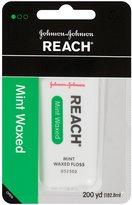 Reach Dental Floss, Waxed-Mint-200 yds.