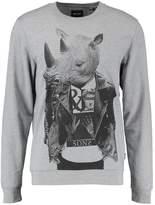 ONLY & SONS ONSVILL ANIMAL Sweatshirt medium grey melange