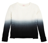 Design History Girls' Dip-Dyed Sweater - Big Kid
