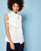 Ted Baker Twisted bow neck top
