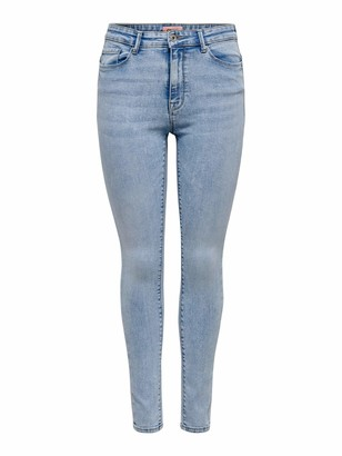 Only Women's ONLPAOLA Life HW Skinny ANK AZG871 NOOS Stretch Jeans