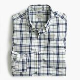J.Crew Slim Secret Wash shirt in indigo check