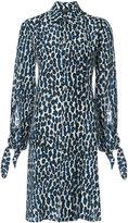 Derek Lam floral print shirt dress