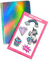 Celebrate Shop Holographic Journal with Stickers, Only at Macy's