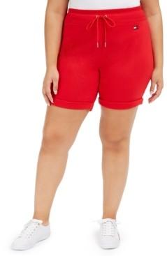 Tommy Hilfiger Plus Size Cuffed Shorts