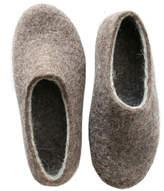 Felt Forma Brown Moose Organic Felt House Shoes