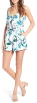 Cupcakes And Cashmere Women's Coralia Floral Print Romper