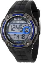Armitron Men's Digital Blue and Gray Chronograph Sport Watch