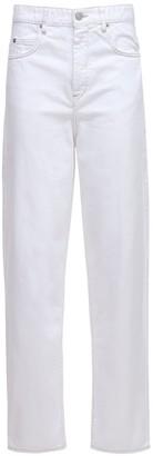Etoile Isabel Marant Corsy J Boyfriend Cotton Denim Jeans