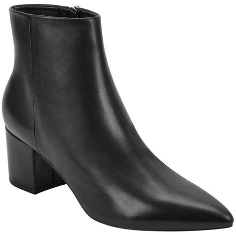 Marc Fisher Jelly Pointed Toe Leather Bootie