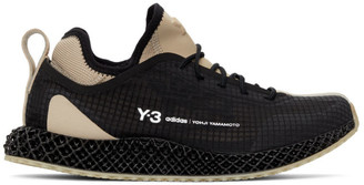 Y-3 Black Runner 4-D Sneakers