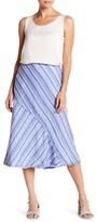 Nic+Zoe Freshwater Mixed Stripe Skirt