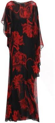 Roberto Cavalli Ruffled Floral-print Silk-chiffon Maxi Dress