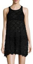 Wildfox Couture Siren Tiered Lace Dress
