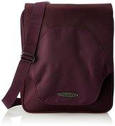 Baggallini Accord Crossbody Messenger Travel Bag with Organizational Pockets
