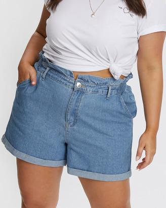 You & All V Front Paperbag Shorts