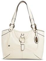 Børn Women's Leather Tote Handbag - White