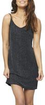 MinkPink Lurex Slip Dress