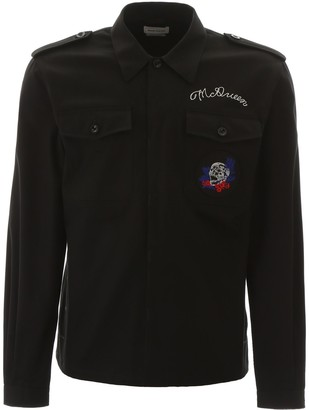 Alexander McQueen Skull Pocket Detail Shirt