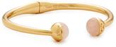 Tory Burch Logo Bead Hinge Bracelet