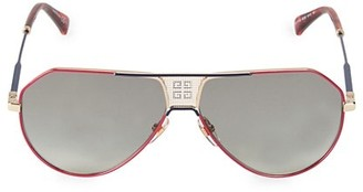 Givenchy 61MM Shield Sunglasses