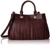 Milly Essex Fringe Small Convertible Top-Handle Bag