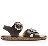 Joseph Oversized-buckle leather sandals