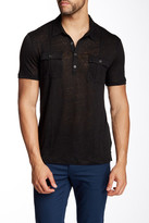 John Varvatos Collection Two Pocket Polo