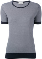 John Smedley striped T-shirt