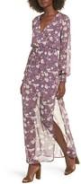 Lush Women's Surplice Maxi Dress