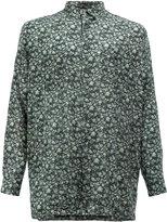 08sircus floral print shirt - men - Cotton/Cupro - 6