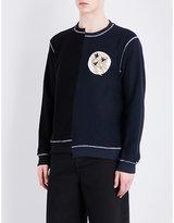 J.w. Anderson Distorted Cotton-jersey Sweatshirt