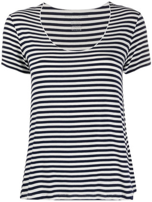 Majestic Stripe Print T-shirt