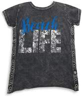 Vintage Havana Girl's Beach Life Cotton Tee